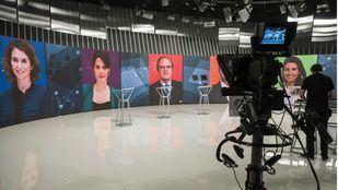 Los candidatos a la Presidencia de la Comunidad se preparan para el debate a seis