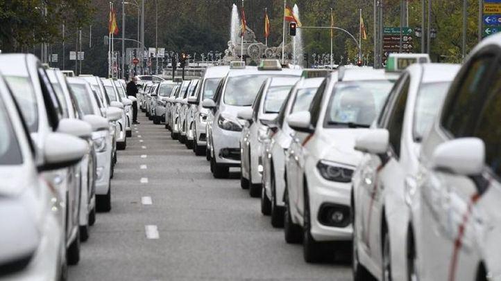 Concentración de taxis