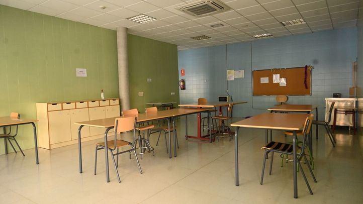 Aula del centro público de Educación Especial María Soriano