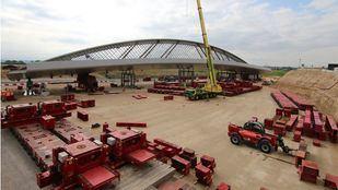 Las obras del Puente de la Concordia afectarán desde este miércoles al acceso a la T4 desde la M-12 y R-2