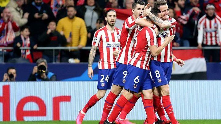 Imagen de archivo del partido Atlético de Madrid - Liverpool