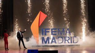 Así desveló el Mago Yunke la nueva imagen de Ifema Madrid