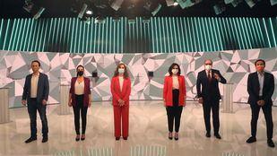 Debate candidatos 4M en Telemadrid