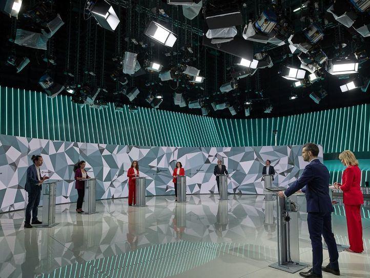 Más de 2,2 millones de madrileños se conectaron al menos un minuto al debate