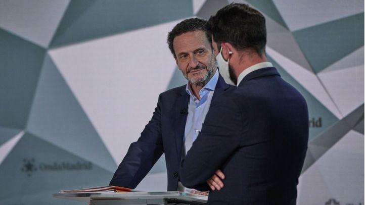 Edmundo Bal en el debate a seis de Telemadrid