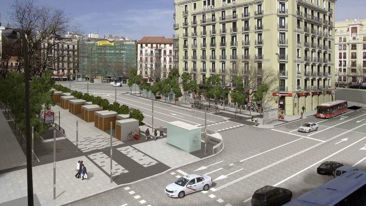 Reforma en Felipe II: recolocar paradas de bus para ganar un 19% de espacio peatonal