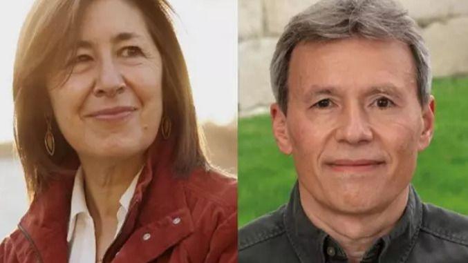Amaya Mendikoetxea y Rubén Pérez, candidatos a rector de la Universidad Autónoma.