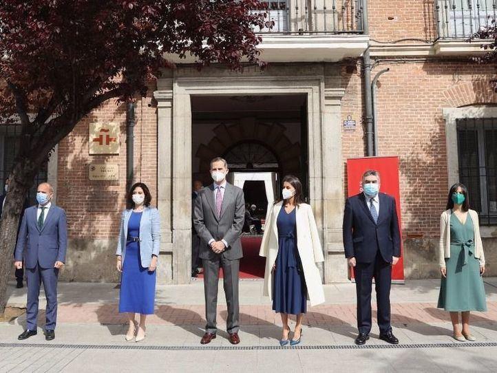 Los Reyes celebran en Alcalá de Henares un 23 de abril marcado por la poesía