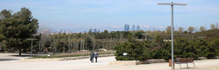 El parque de la Cuña Verde de O'Donnell reabre tras finalizar su reforma