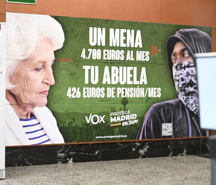 La Junta Electoral archiva la denuncia del PSOE por el cartel electoral de Vox