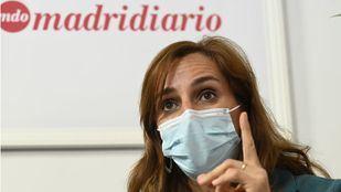 Mónica Garcia, candidata de Más Madrid a la presidencia de la Comunidad de Madrid
