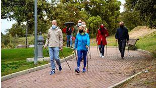 Primer circuito de marcha nórdica de la Comunidad de Madrid