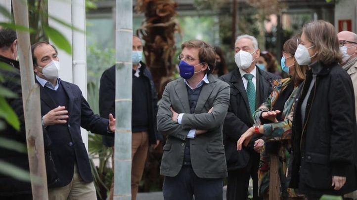 El Invernadero del Palacio de Cristal reabre este miércoles tras subsanarse los daños de Filomena