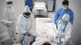 Repuntan las hospitalizaciones por Covid con un centenar de nuevos ingresos