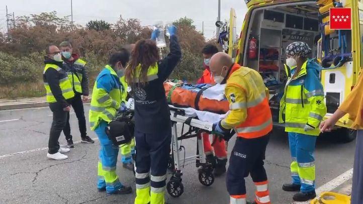 Atropelladas tres personas en un paso de cebra en Las Rozas