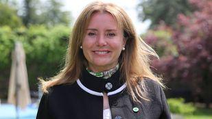 Nuria Martinez,  presidenta de Tercera Edad en Acción y primera de la lista del partido en las próximas elecciones del 4 de Mayo.