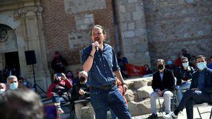 Pablo Iglesias, candidato de Unidas Podemos a la presidencia de la Comunidad de Madrid