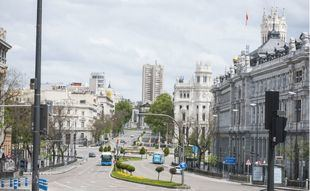 Obras en Alcalá antes de verano para recuperar la imagen de bulevar entre Cibeles y Cedaceros
