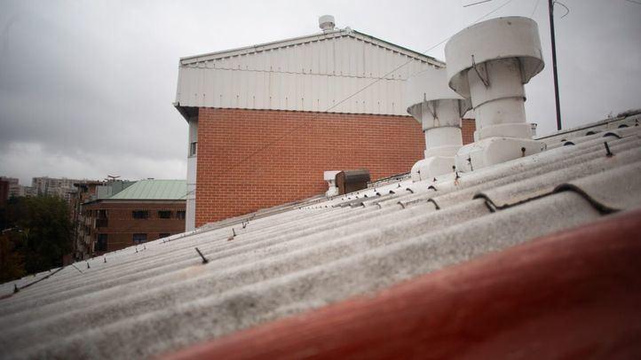 Tejados de amianto en San Pascual