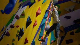 El centro de escalada Climbat X-Madrid duplica su superficie inaugurando una nueva sala