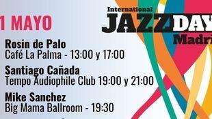 Tercer día de conciertos en el International Jazz Day Madrid 2021