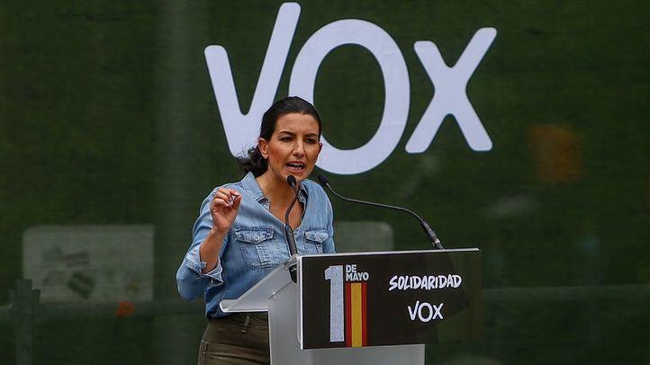 Rocio Monasterio, candidata de Vox a la presidencia de la Comunidad de Madrid