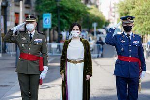 Díaz Ayuso asiste al acto cívico-militar de homenaje a los Héroes del 2 de Mayo