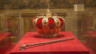 Corona centro en el Palacio Real