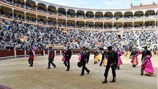 Festival taurino-político en Las Ventas: las figuras votan a Isabel Díaz Ayuso