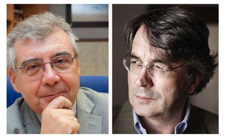 Pedro Montoliú y Andrés Trapiello