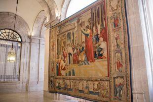 Prorrogada la exposición 'Rafael en Palacio. Tapices para Felipe II'