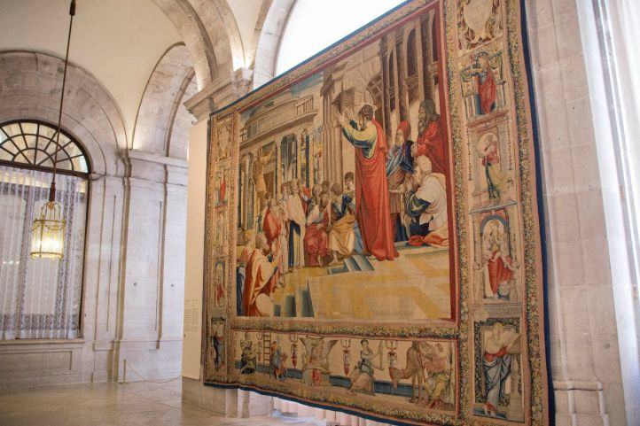 Exposición 'Rafael en Palacio. Tapices para Felipe II'