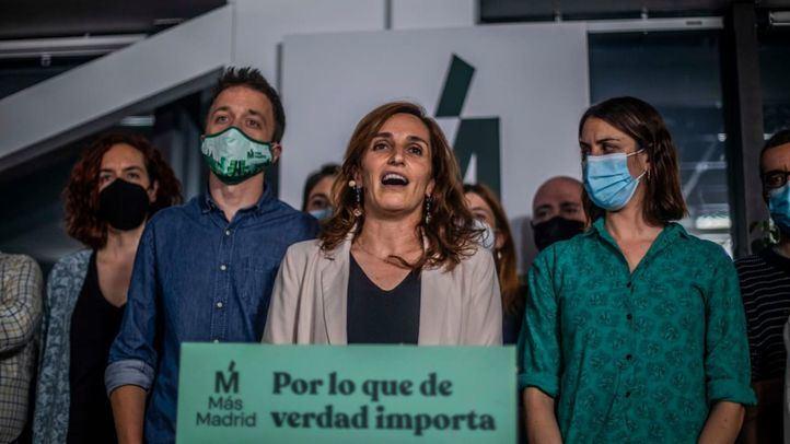 Más Madrid supera al PSOE y se coloca como segundo partido