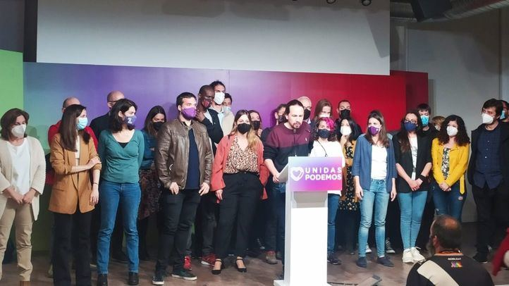 Pablo Iglesias dimite de todos sus cargos tras los resultados electorales