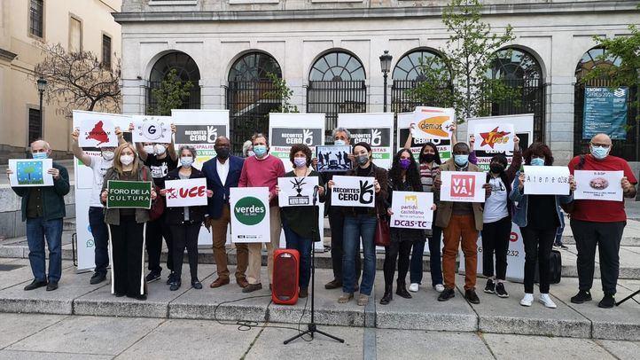candidatura de la coalición Recortes Cero - Partido Castellano - Tierra Comunera - Grupo Verde - Municipalistas