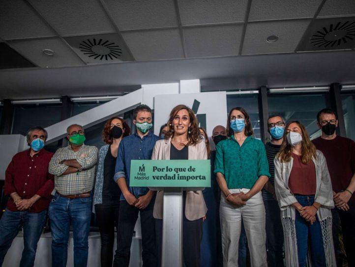 Mónica García califica su victoria de 'amarga'