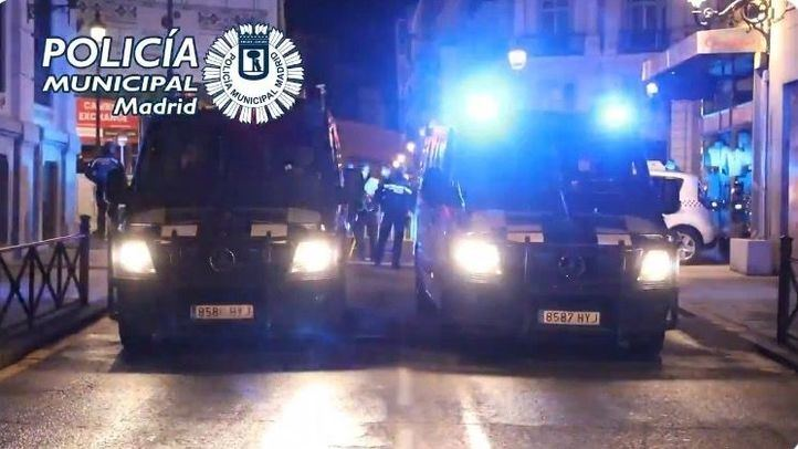 Policía Municipal de Madrid patrullando