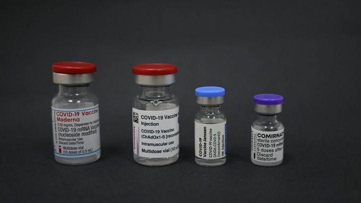Reportaje de las cuatro vacunas Covid-19 que se ponen a la población española estos dias.