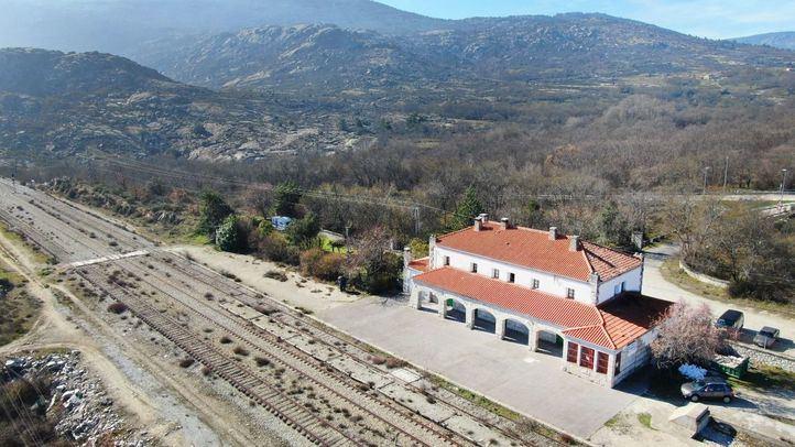 'Traductores del Viento' arranca en la antigua estación de Bustarviejo