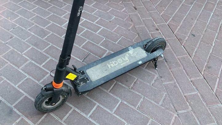 Detenido el conductor de un patinete eléctrico tras dar positivo en consumo de drogas