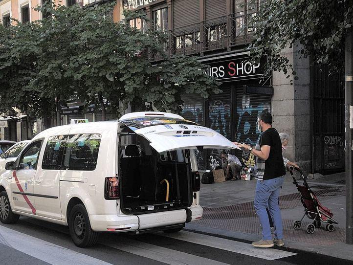 Taxista durante la pandemia