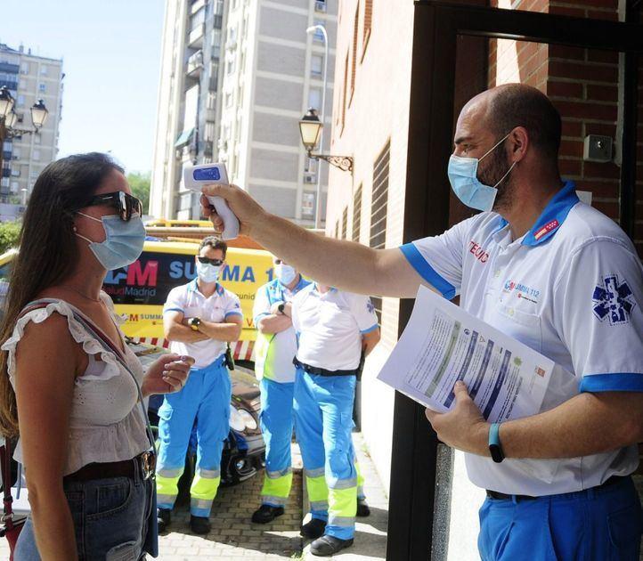 Los nuevos casos positivos por Covid-19 continúan en aumento en Madrid