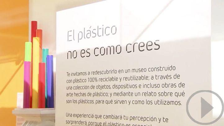 Madrid inaugura The Plastic Museum, el primer museo del mundo reciclable