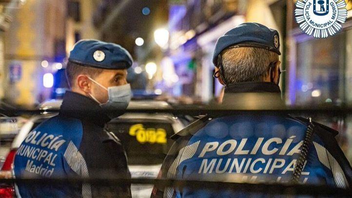 La Policía realizó en Madrid más de 450 intervenciones por las aglomeraciones
