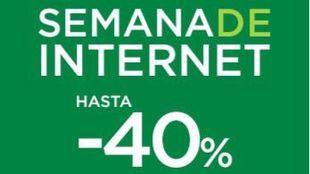El Corte Inglés lanza la Semana de Internet con descuentos únicos de hasta el 40%
