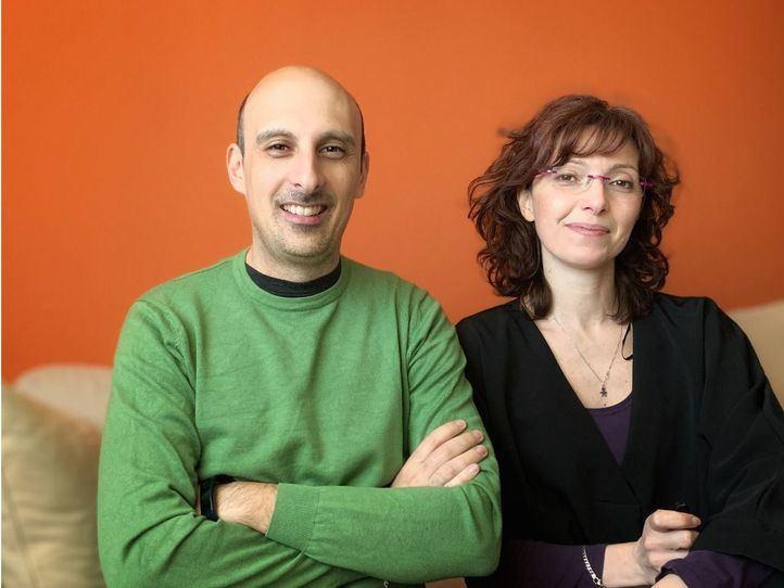 Mauro Benicci y Ester Liquori de 'You Are My Guide'