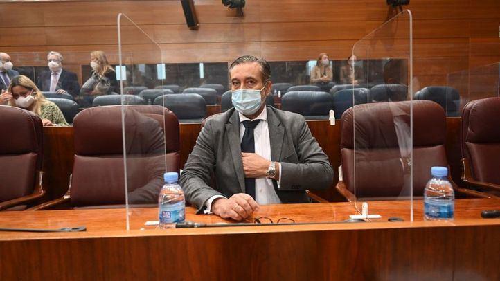 Enrique López, consejero de Justicia en funciones