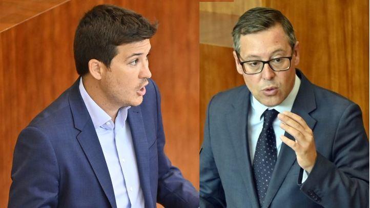 Perpinyà y Serrano en los micrófonos de Onda Madrid
