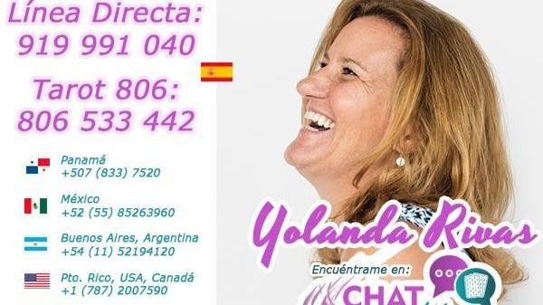Tarot Yolanda Rivas – Vidente Yolanda tarotista buena y fiable visa 806 opiniones teléfono