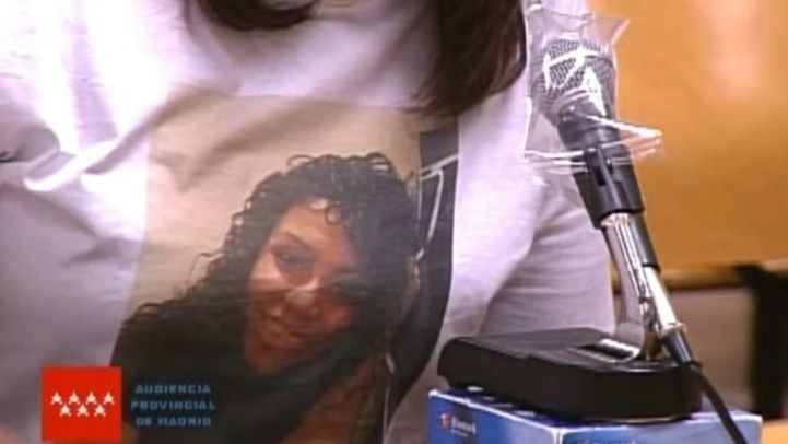La madre de Heidi Paz asegura que la maleta donde se encontró el torso de su hija pertenece a Román